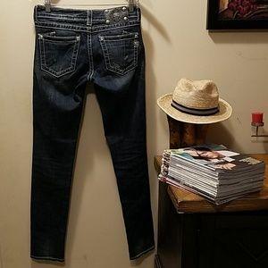 Miss Me jeans. Size 27x32.5